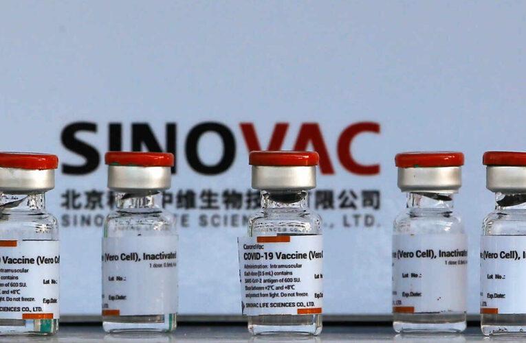 Brasil suspende distribución de 12 millones de vacunas Sinovac