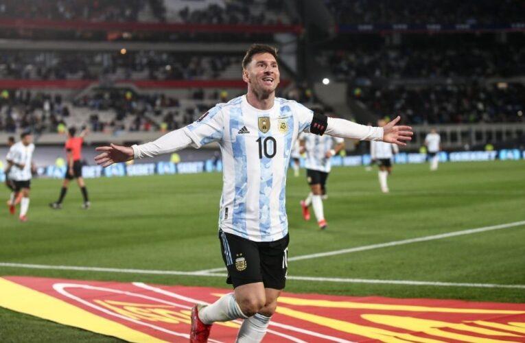 Messi encabeza convocatoria de Argentina para triple fecha