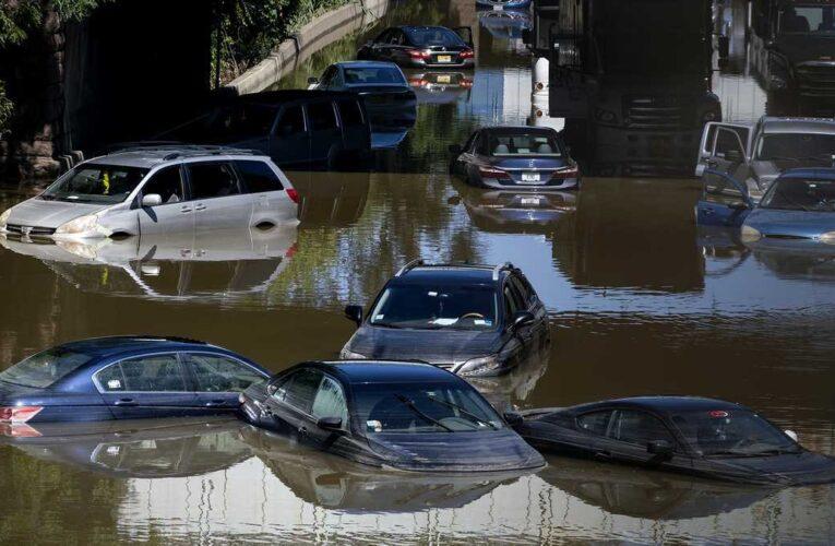 Biden declara desastres en Nueva York y Nueva Jersey