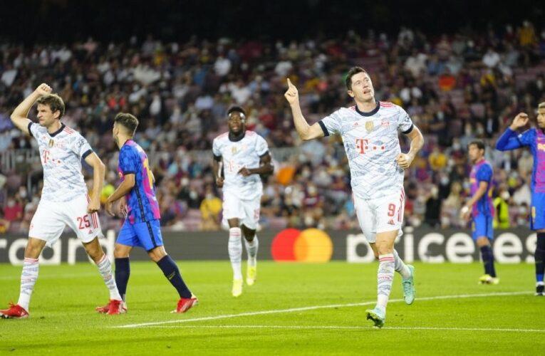 Bayern goleó a Barcelona en el arranque de la Champions