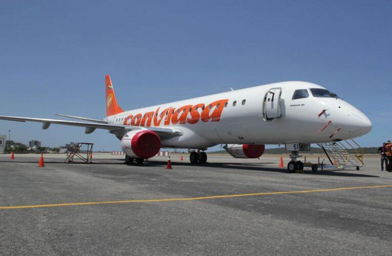 A partir del 29 Conviasa autoriza vuelos a Toluca
