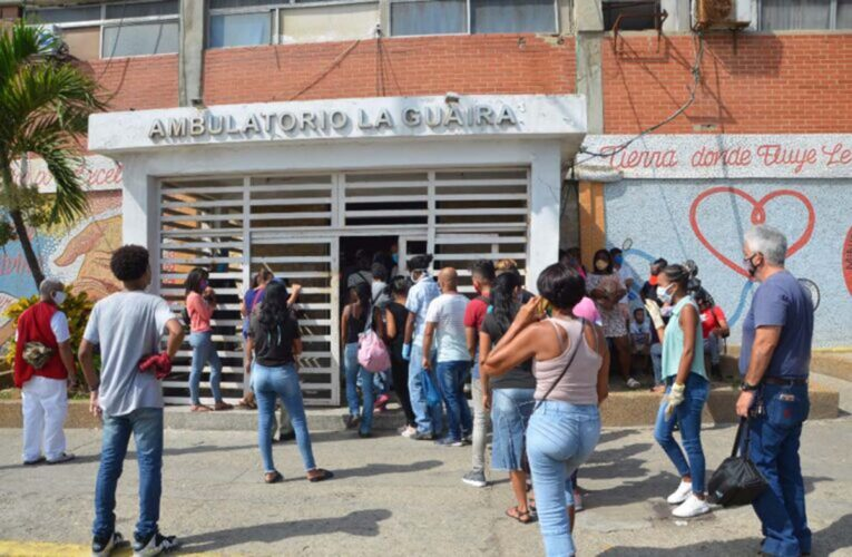 165 nuevos contagios en La Guaira
