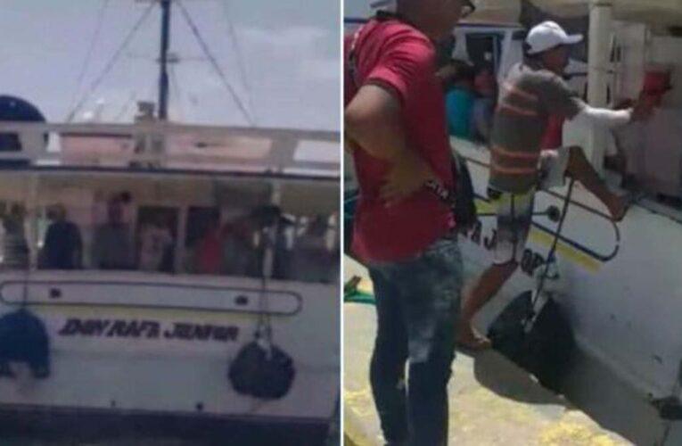 Rescatan con vida a 1 de los 23 ocupantes de embarcación Don Rafael