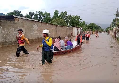 Al menos dos fallecidos por inundaciones en Anzoátegui