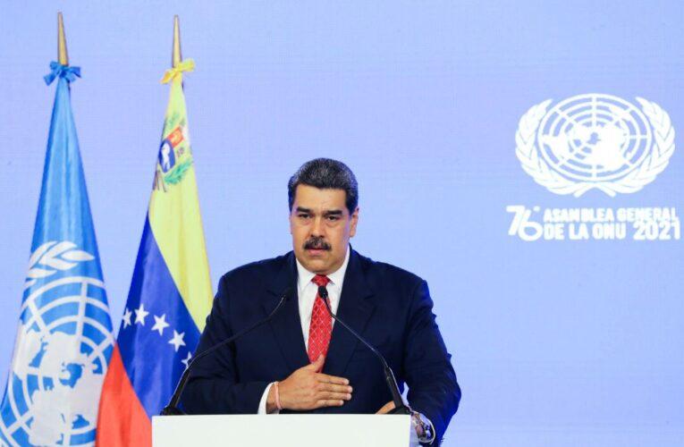 Maduro pide ante la ONU «apoyo al diálogo con la oposición»