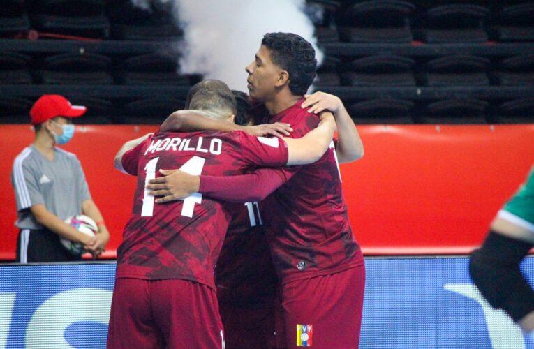 Venezuela debutó con triunfo en Mundial de Futsal