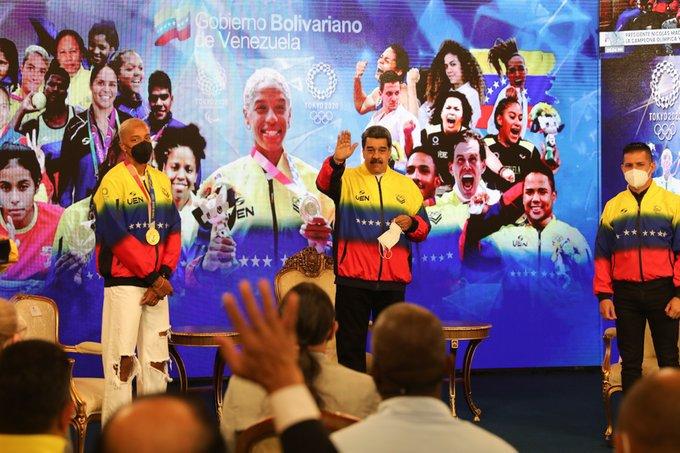 Maduro otorgó Orden Libertadores a Yulimar Rojas