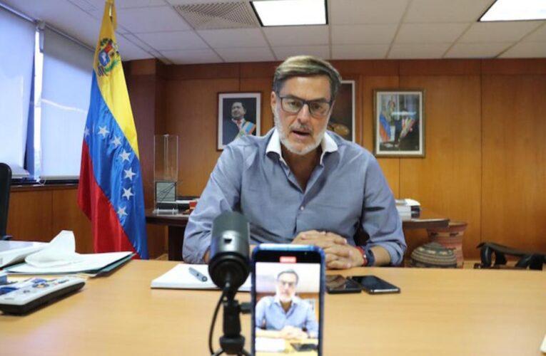 Canciller venezolano se reunirá con ministro de la UE
