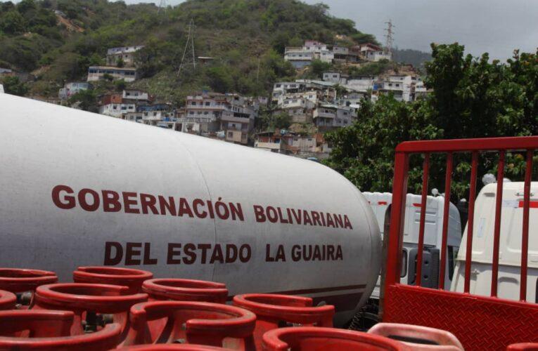 Distribuirán 54 mil bombonas en La Guaira