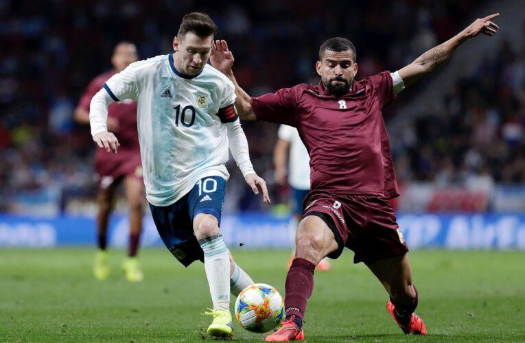 La Vinotinto busca contener a la Argentina de Messi