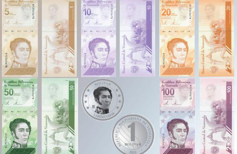 Nuevos billetes comenzarán a circular el 4 de octubre