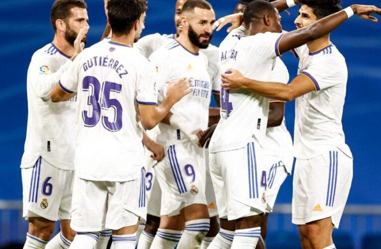 Real Madrid goleó y se mantiene líder