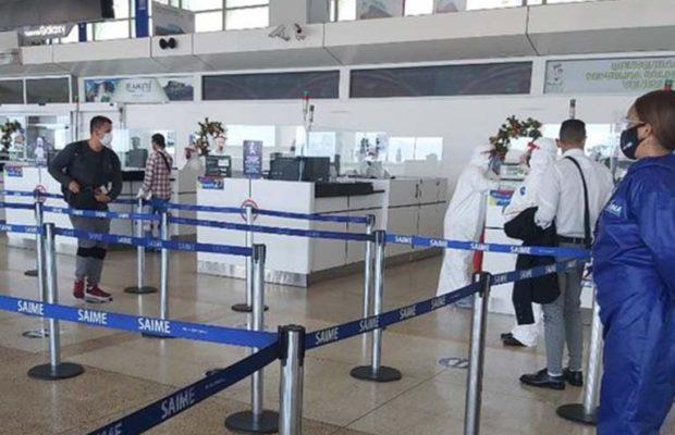 Supervisan medidas sanitarias del aeropuerto de Maiquetía
