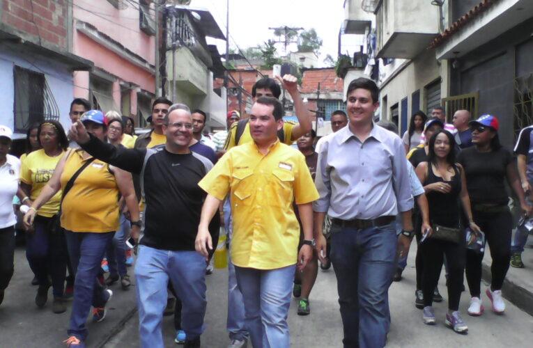 Unidad elige a Tomás Guanipa como candidato a alcalde de Libertador