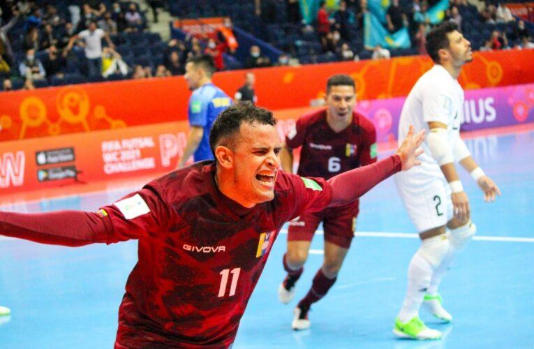 Vinotinto de Futsal empató ante Kazajistán