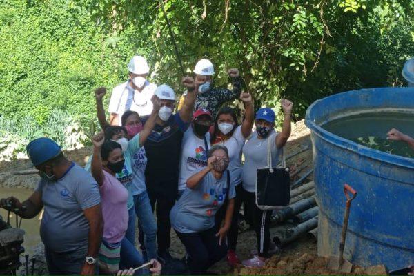 Alcaldía activó segundo pozo para dotar de agua a 2.500 familias de El Rincón
