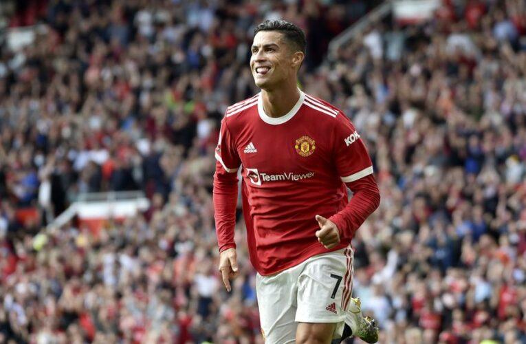 Cristiano Ronaldo debutó con doblete