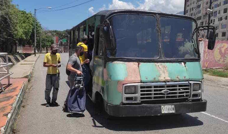 Tres sectores de la Carlos Soublette se quedaron sin transporte