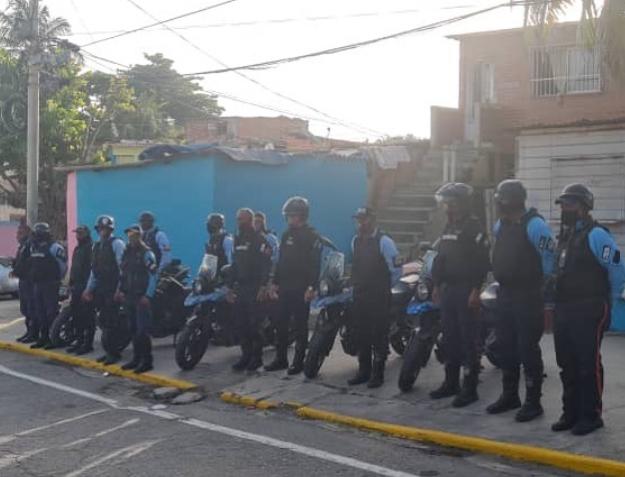 BRIM realizó patrullaje de seguridad en Atanasio Girardot