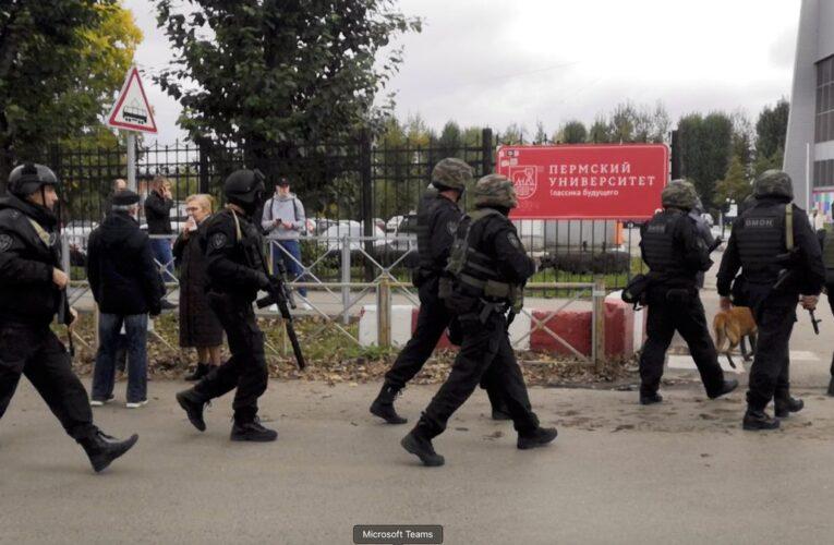 6 muertos y 28 heridos entre estos el atacante en tiroteo en universidad rusa