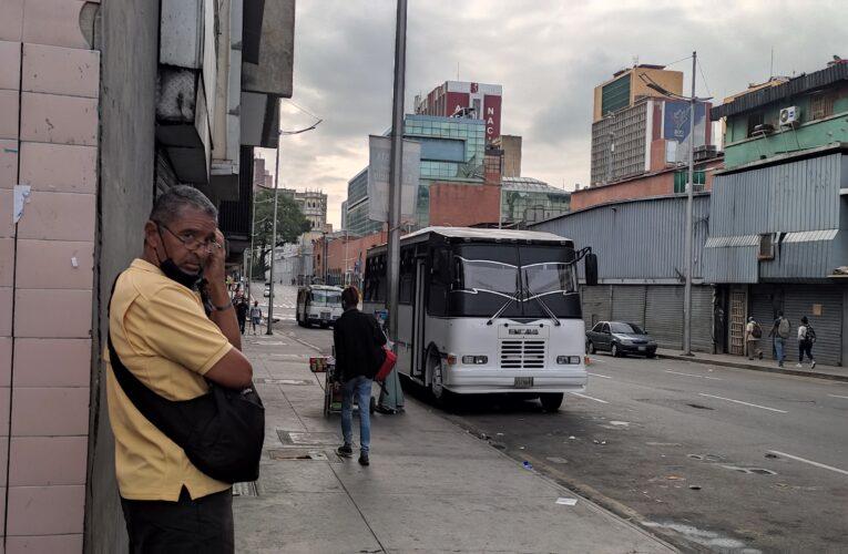 La Caracas-La Guaira mantuvo flota varada a falta de usuarios