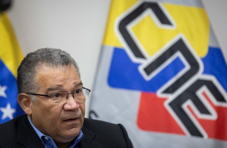 Vicepresidente del CNE: Inhabilitaciones quebrantan derechos políticos