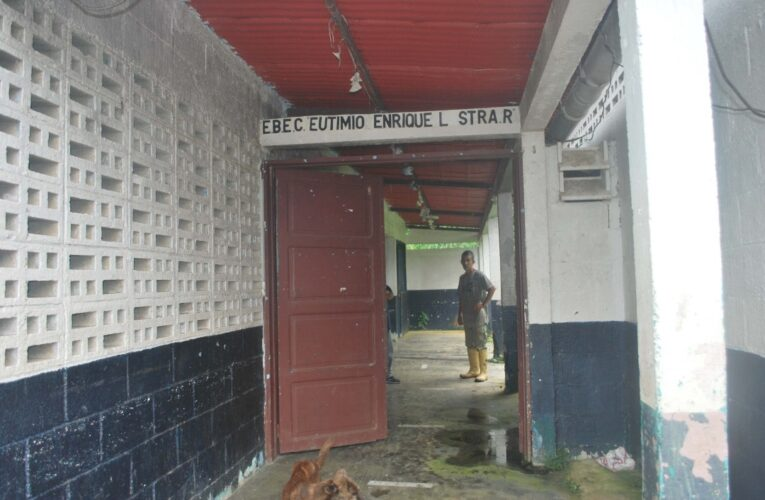 Exige reparaciones a la escuela Eutimio Lastra y que habiliten el ambulatorio