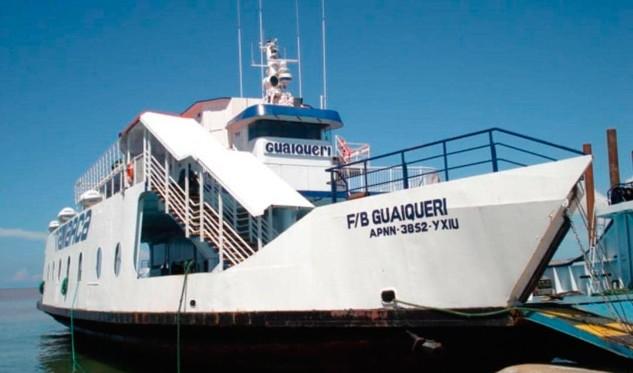 Rescataron a 113 personas del ferry encallado en Margarita