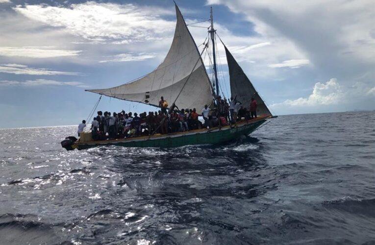 Interceptan a 104 haitianos en las costas de Florida