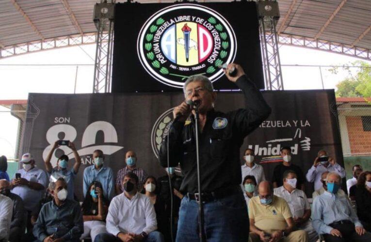 Ramos Allup: AD va a megaelecciones con la MUD