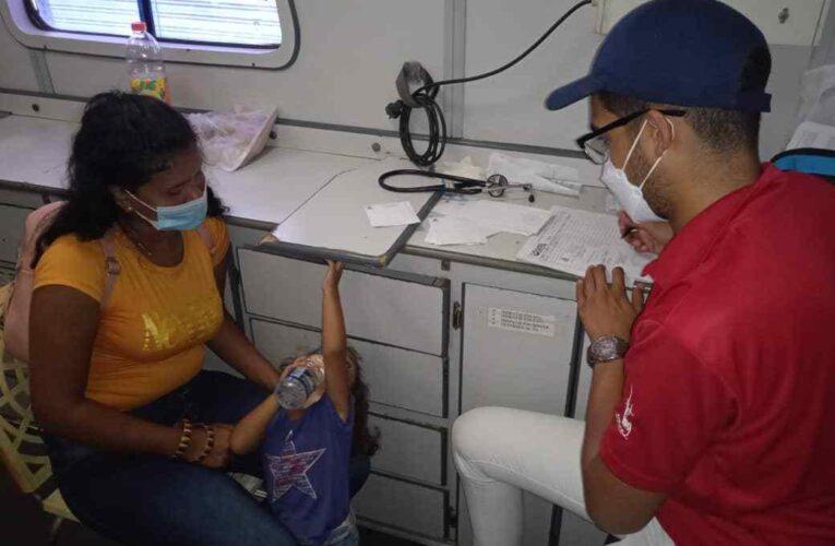Juventud del PSUV celebró sus 13 años con jornada médica