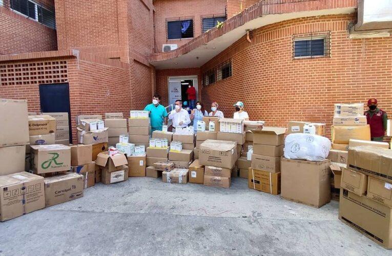 Gobierno regional recibió más de 450 mil millones de bolívares en medicinas