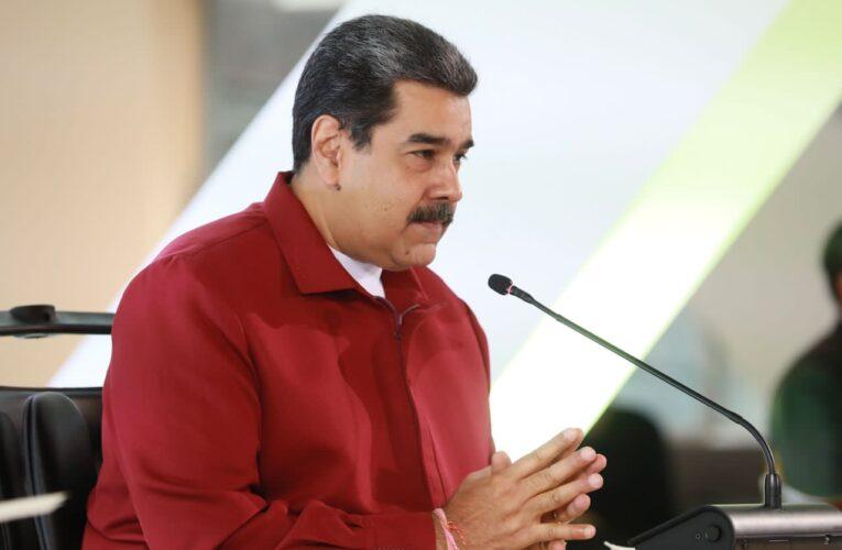 Maduro propuso a Castillo apoyar plan «Vuelta a la Patria» en Perú