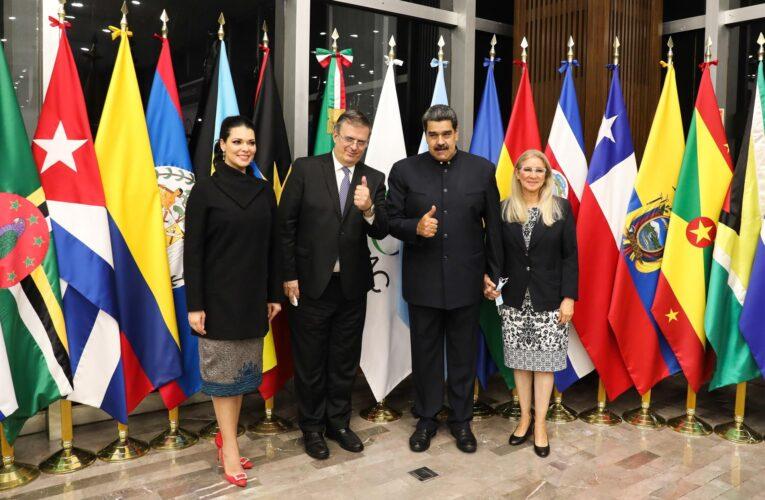 Maduro llegó a México para la cumbre Celac