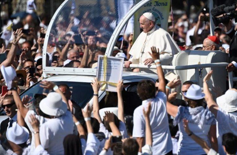 Papa: Antisemitismo en Europa es una mecha que hay que apagar