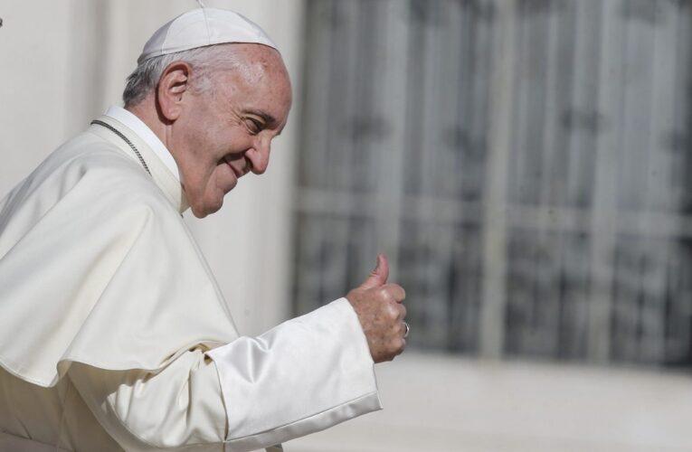 Papa Francisco: No me ha pasado por la cabeza renunciar