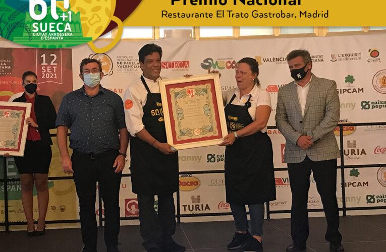 Una pareja venezolana ganó el premio a la mejor paella de España