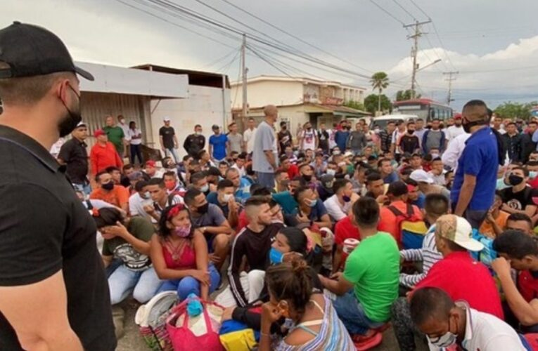 Liberan a 259 reos del retén de Cabimas