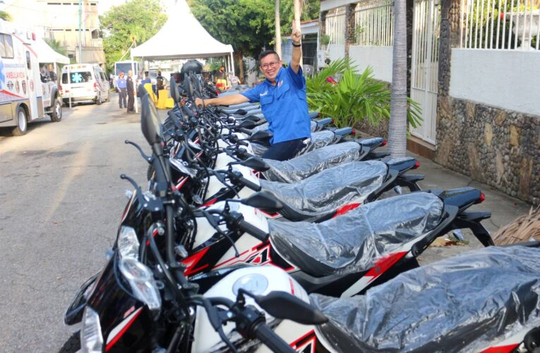 Gobernación entregará nuevas motos a policías