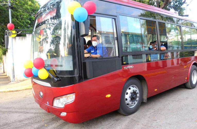 Marapa Marina, San Julián, Canaima y Las Salinas tienen nuevos autobuses