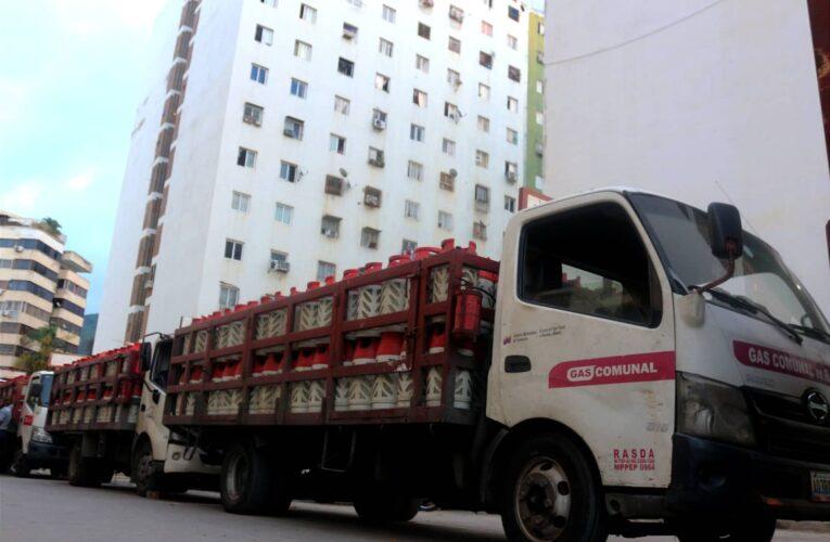 Casi 2 mil familias recibieron gas doméstico en Caraballeda