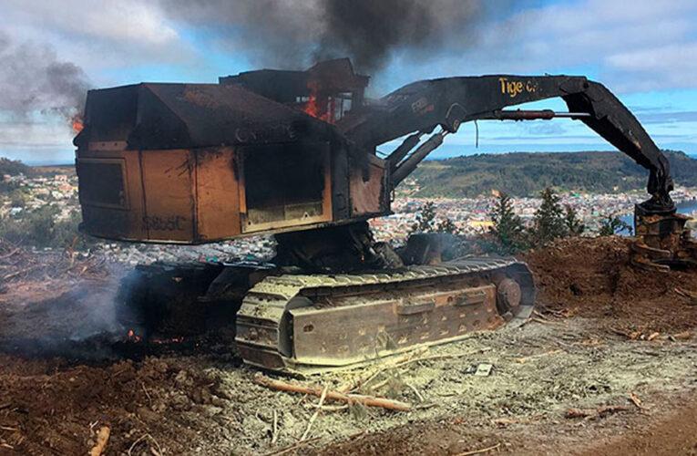 Decretan estado de excepción ante violencia en el sur de Chile