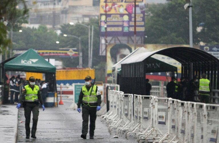 """Colombia propone """"proceso ordenado"""" para reapertura de la frontera"""