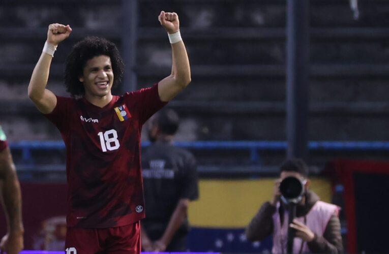 La Vinotinto venció 2-1 Ecuador