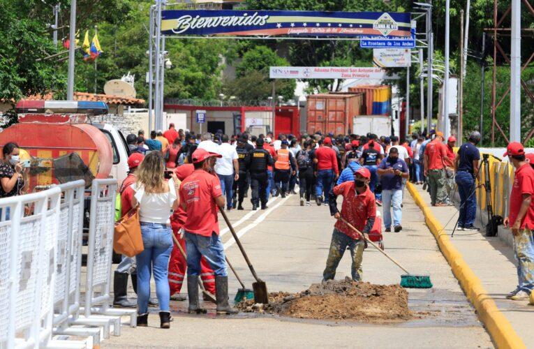 Gobernadora de Táchira advierte que aún no se reanuda paso comercial con Colombia
