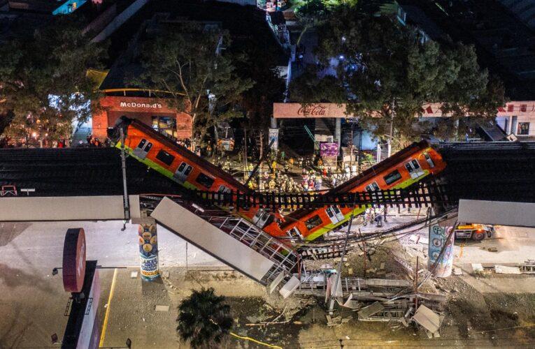 Acusarán por homicidio a empresas implicadas en desplome del metro en México