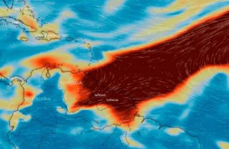 Nube de azufre del volcán de La Palma llegó a Venezuela
