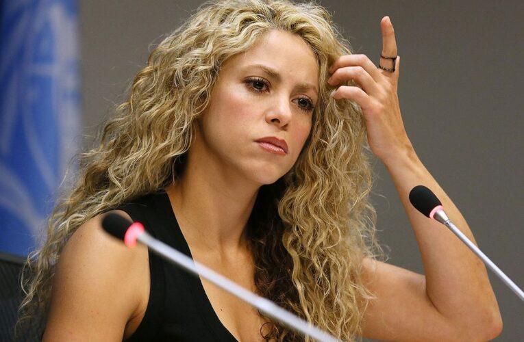 Shakira niega haber evadido impuestos