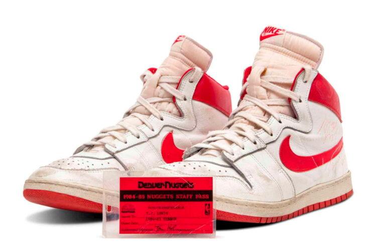 Arranca en $1 millón la subasta de las botas más antiguas que usó Jordan en la NBA