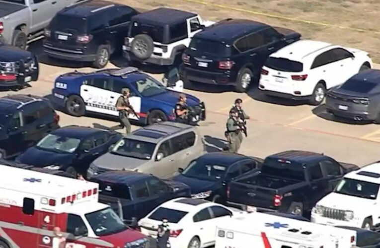 4 heridos en tiroteo en escuela secundaria de Texas